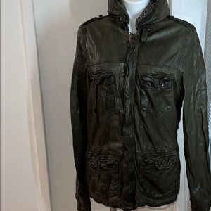 Giorgio Brato Men's Leather Jacket